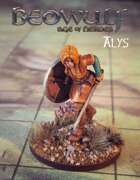 BEOWULF: Age of Heroes Digital Miniatures Alys