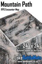 "Mountain Path 24"" x 24"" RPG Encounter Map"