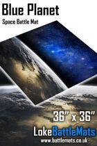 Blue Planet - 3'x3' Space Battle Mat