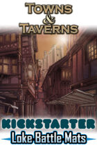 Towns & Taverns Kickstarter Rewards