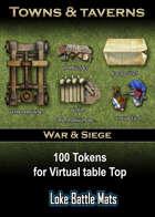 War & Siege Token Set