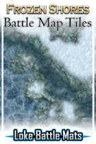 Frozen Shores Battle Map Tiles