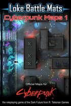 Cyberpunk Maps 1 [BUNDLE]