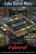 "Hab Block 24"" x 17"" Cyberpunk RED Battle Map"