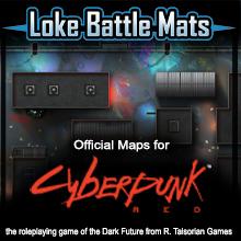 Cyberpunk RED Battle Maps