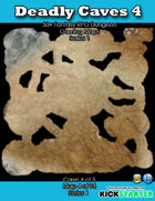 50+ Fantasy RPG Maps 1: (4 of 94) Deadly Caves 4