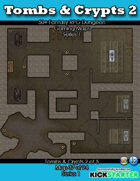 50+ Fantasy RPG Maps 1: (37 of 95) Tombs & Crypts 2