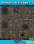 50+ Fantasy RPG Maps 1: (38 of 95) Tombs & Crypts 3