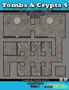 50+ Fantasy RPG Maps 1: (39 of 95) Tombs & Crypts 4