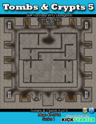 50+ Fantasy RPG Maps 1: (40 of 95) Tombs & Crypts 5