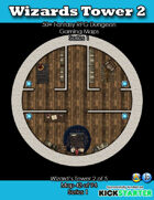 50+ Fantasy RPG Maps 1: (42 of 95) Wizard's Tower 2