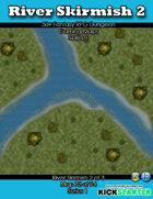 50+ Fantasy RPG Maps 1: (72 of 95) River Skirmish 2