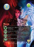 Epic Hero and Villain Feat Cards 2 Original Art Set [BUNDLE]
