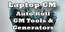 Laptop GM - Auto Roll GM Tools & Generators