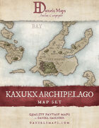Kuxukc Archipelago - World Map Set