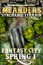 Meanders Map Pack: Fantasy City - Spring I