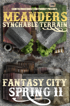 Meanders Map Pack: Fantasy City - Spring II