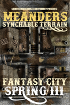 Meanders Map Pack: Fantasy City - Spring III