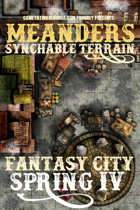Meanders Map Pack: Fantasy City - Spring IV