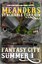 Meanders Map Pack: Fantasy City - Summer I