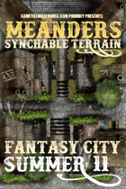 Meanders Map Pack: Fantasy City - Summer II
