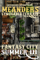 Meanders Map Pack: Fantasy City - Summer III