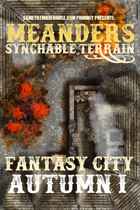 Meanders Map Pack: Fantasy City - Autumn I