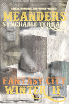 Meanders Map Pack: Fantasy City - Winter II