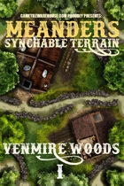 Meanders Map Pack: Venmire Woods I