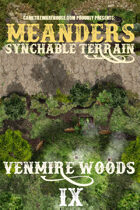 Meanders Map Pack: Venmire Woods IX