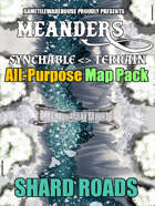 Meanders All-Purpose Map Pack - SHARD ROADS I