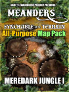 Meanders All-Purpose Map Pack - MEREDARK JUNGLE I