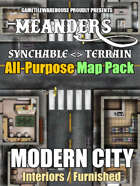 Meanders All-Purpose Map Pack - MODERN CITY INTERIORS