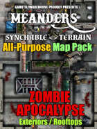 Meanders All-Purpose Map Pack - ZOMBIE-APOCALYPSE CITY EXTERIORS