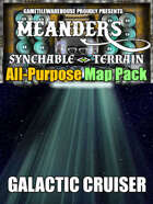 Meanders All-Purpose Map Pack - GALACTIC CRUISER