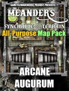 Meanders All-Purpose Map Pack - ARCANE AUGURUM I