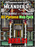 Meanders All-Purpose Map Pack - AREA 51