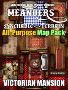 Meanders All-Purpose Map Pack - VICTORIAN MANSION