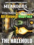 Meanders All-Purpose Map Pack - DWARVEN CITADEL: HALEHOLD