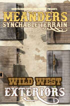 Meanders All-Purpose Map Pack - WILD WEST CITY EXTERIORS