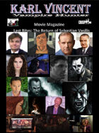 Karl Vincent: Vampire Hunter movie magazine