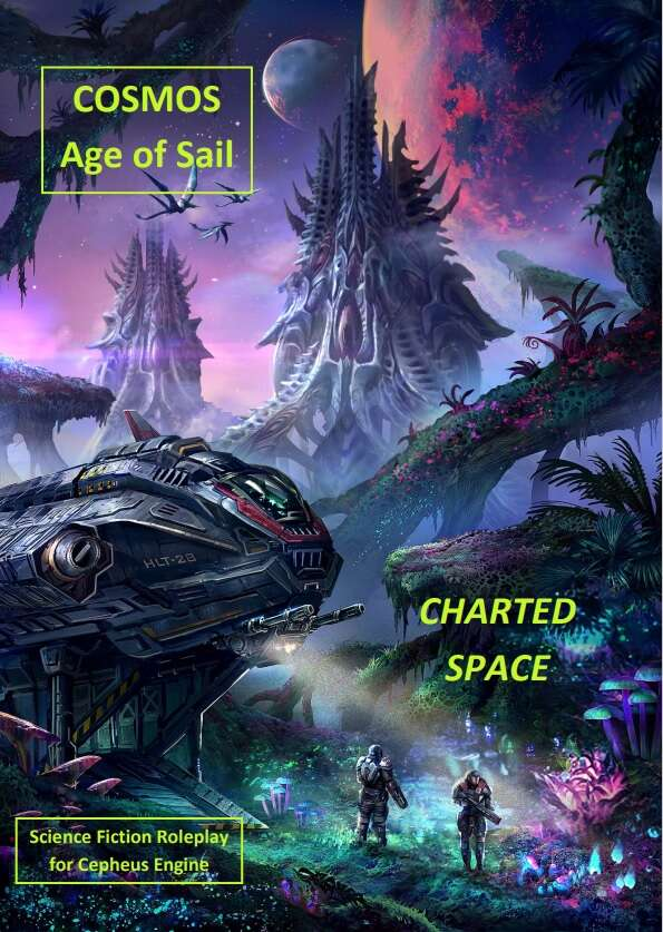 Cosmos: Age of Sail Charted Space