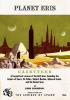 Planet Eris Gazetteer