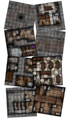 Adventure Realm Town Map Tiles