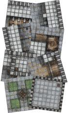 Adventure Realm Castle Map Tiles