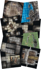 Adventure Realm Dungeon Map Tiles