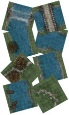 Adventure Realm Riverland Map Tiles