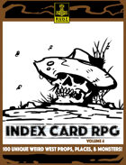 INDEX CARD RPG Vol. 4