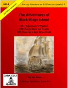 Adventures of Black Ridge Island BR: 1-3