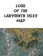 Map of the Labyrinth Islands